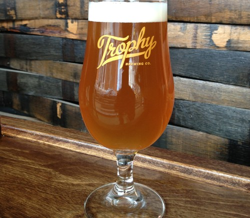 trophy brewing and taproom on maywood avenue